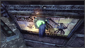 Jump off the edge and glide south - Batman trophies (01-10) | Amusement Mile - Amusement Mile - Batman: Arkham City Game Guide