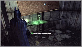 Now you can access the main part of the police parking and use the newly unlocked passage #1 - Batman trophies (11-18) | Amusement Mile - Amusement Mile - Batman: Arkham City Game Guide