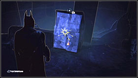 After reaching the area where the Trophy is hidden, it will turn out that the passage leading towards it is blocked #1 - Catwoman trophies | Amusement Mile - Amusement Mile - Batman: Arkham City Game Guide