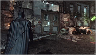The second building is Zsaszs hideout - Location info & maps | Industrial District - Industrial District - Batman: Arkham City Game Guide