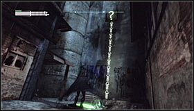 Glide towards the pressure plate and getting nearby it additionally press the right trigger to activate the Dive Bomb skill #1 - Batman trophies (17-25) | Industrial District - Industrial District - Batman: Arkham City Game Guide