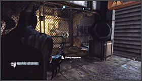 Inside, stand on the pressure plate #1 - Batman trophies (26-37) | Industrial District - Industrial District - Batman: Arkham City Game Guide