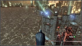 The Trophy is hidden in a hardly accessible place, reachable through a hole in the wall south of the Industrial District #1 - Batman trophies (26-37) | Industrial District - Industrial District - Batman: Arkham City Game Guide