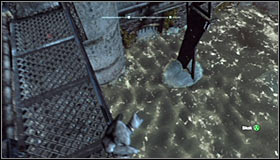 The Trophy can be found below the balcony #1 and even though obtaining it won't be difficult, you should look out not to fall into the water - Catwoman trophies - Industrial District - Batman: Arkham City - Game Guide and Walkthrough