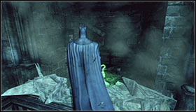 The solution of this puzzle is fairly easy, as you just need to glide into the fragile wall #1 - Batman trophies (01-11) | Subway - Subway - Batman: Arkham City Game Guide