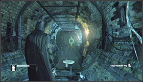 Start off south-west of where the Trophy is - Batman trophies (01-11) | Subway - Subway - Batman: Arkham City Game Guide