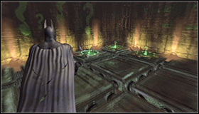 Wait for the whole process to end, which you will know by the exit becoming open again #1 - Batman trophies (12-26) | Subway - Subway - Batman: Arkham City Game Guide