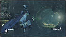 Approach the area from the east - Riddles | Subway - Subway - Batman: Arkham City Game Guide