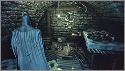 Completing the above actions will let you reach Killer Crocs hideout (screen above) - Riddles | Subway - Subway - Batman: Arkham City Game Guide