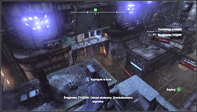 The only area of the Bowery you cant access at the beginning is the Arkham City Processing Center (screen above) - Location info & maps | Bowery - Bowery - Batman: Arkham City Game Guide