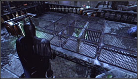 Shoot at the left magnet and make the sphere move slightly to the right #1 - Batman trophies (22-30) | Bowery - Bowery - Batman: Arkham City Game Guide