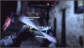 Use the Cryptographic Sequencer on the local control panel #1 - Batman trophies (31-39) | Bowery - Bowery - Batman: Arkham City Game Guide
