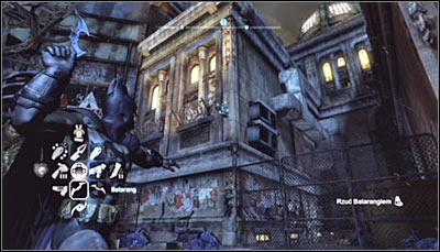 There is a total of twelve TYGER cams in the Bowery and destroying them will let you complete a total of four riddles (three cameras per each) - TYGER cameras | Bowery - Bowery - Batman: Arkham City Game Guide