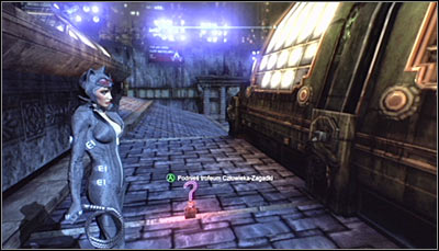 This Trophy can be reached very easily - Catwoman trophies | Bowery - Bowery - Batman: Arkham City Game Guide