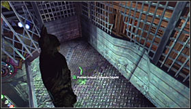 Get to the very bottom of the elevator shaft, which has been described in the Hot and Cold walkthrough - Batman trophies (01-15) | Steel Mill - Steel Mill - Batman: Arkham City Game Guide
