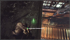After using the shaft, look up and find a spot where you can use the Grapnel Gun #1 - Batman trophies (01-15) | Steel Mill - Steel Mill - Batman: Arkham City Game Guide