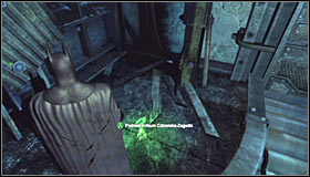 You need to reach the shaft exit #1 - Batman trophies (16-24) | Steel Mill - Steel Mill - Batman: Arkham City Game Guide