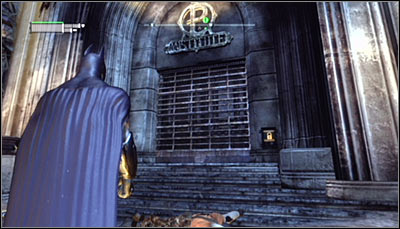 The museum has two entrances - Location info & maps | Museum - Museum - Batman: Arkham City Game Guide