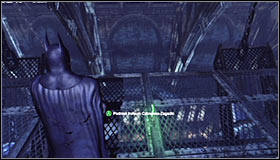 Go to the main room with the dinosaur exhibit - Batman trophies (11-23) | Museum - Museum - Batman: Arkham City Game Guide