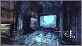 Lead the Batarang onto the partially raised grate in the south-west part of the room #1 - Batman trophies (11-23) | Museum - Museum - Batman: Arkham City Game Guide