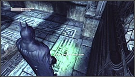 Go through the shaft, thanks to which you will find yourself south of the destination - Batman trophies (11-23) | Museum - Museum - Batman: Arkham City Game Guide