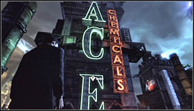 1 - Climb to the top of the ACE Chemical building to collect your equipment - Main story - Batman: Arkham City - Game Guide and Walkthrough