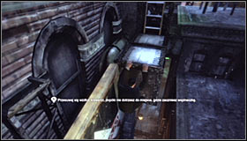 2 - Climb to the top of the ACE Chemical building to collect your equipment | Main story - Main story - Batman: Arkham City Game Guide