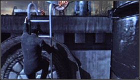 5 - Climb to the top of the ACE Chemical building to collect your equipment - Main story - Batman: Arkham City - Game Guide and Walkthrough