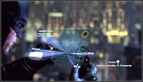 You will have to solve an easy mini-game involving the Cryptographic Sequencer - Climb to the top of the ACE Chemical building to collect your equipment - Main story - Batman: Arkham City - Game Guide and Walkthrough