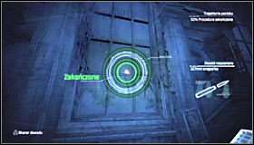 Start off by launching the Evidence Scanner by pressing LB - Scan the crime scene for ballistic evidence | Main story - Main story - Batman: Arkham City Game Guide