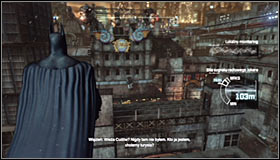 4 - Track down the source of the radio signal to locate Joker - Main story - Batman: Arkham City - Game Guide and Walkthrough