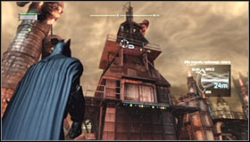 5 - Track down the source of the radio signal to locate Joker - Main story - Batman: Arkham City - Game Guide and Walkthrough
