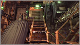 1 - Break into Jokers office in the Loading Bay | Main story - Main story - Batman: Arkham City Game Guide