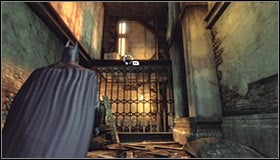 Note that now you can use the newly unblocked passage - Break into Jokers office in the Loading Bay | Main story - Main story - Batman: Arkham City Game Guide