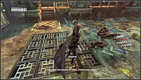 Fight until you get rid of the normal Thugs and afterwards move your attention to Hammer - Break into Jokers office in the Loading Bay | Main story - Main story - Batman: Arkham City Game Guide