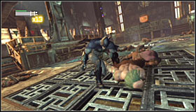 10 - Break into Jokers office in the Loading Bay | Main story - Main story - Batman: Arkham City Game Guide
