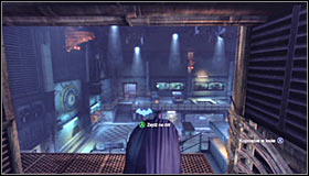 After reaching the upper level, approach the vent grate #1 and pull it out by systematically pressing A - Locate Mister Freeze and recover the cure - Main story - Batman: Arkham City - Game Guide and Walkthrough