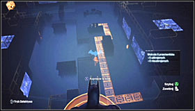 I'd suggest using the Grapnel Gun to reach one of the vantage points #1 and afterwards observe how the enemies behave - Locate Mister Freeze and recover the cure - Main story - Batman: Arkham City - Game Guide and Walkthrough