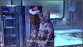 Your objective is eliminate four out of five guards, resulting in the fifth giving up #1 - Locate Mister Freeze and recover the cure - Main story - Batman: Arkham City - Game Guide and Walkthrough