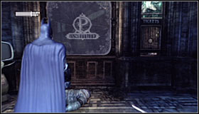 If you turn on the Detective Mode, you should note that there's a laser barrier #1 which blocks access to the main part of the museum if crossed - Rescue Mister Freeze from Penguin in the Museum - Main story - Batman: Arkham City - Game Guide and Walkthrough