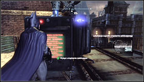 7 - Disable Penguins Communications Disruptors | Main story - Main story - Batman: Arkham City Game Guide