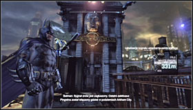 Keep repeating this until all the enemies guarding the second jammer are eliminated - Disable Penguins Communications Disruptors | Main story - Main story - Batman: Arkham City Game Guide