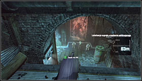 6 - Disable Penguin's Final Communications Disruptor underground - Main story - Batman: Arkham City - Game Guide and Walkthrough