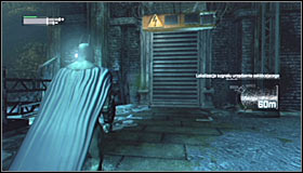 You can continue going east and eventually you should reach a new group of Thugs #1 - Disable Penguin's Final Communications Disruptor underground - Main story - Batman: Arkham City - Game Guide and Walkthrough