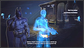 You begin inside the museum, in the Trophy Room to be precise - Analyse the assassins blood to follow her trail | Main story - Main story - Batman: Arkham City Game Guide