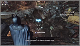 2 - Follow assassin using tracer device to locate Ras al Ghul | Main story - Main story - Batman: Arkham City Game Guide