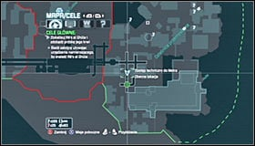 The place youre searching for is a big hole in the ground, the Subway Maintenance Access #1 - Follow assassin using tracer device to locate Ras al Ghul | Main story - Main story - Batman: Arkham City Game Guide