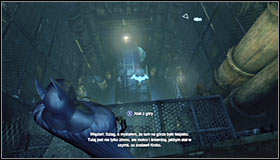 Choose the tunnel heading north #1, overcoming a few small obstacles on your way - Follow assassin using tracer device to locate Ra's al Ghul - Main story - Batman: Arkham City - Game Guide and Walkthrough