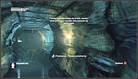 You should reach a tunnel with a big abyss - Follow assassin using tracer device to locate Ra's al Ghul - Main story - Batman: Arkham City - Game Guide and Walkthrough