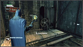 10 - Follow assassin using tracer device to locate Ras al Ghul | Main story - Main story - Batman: Arkham City Game Guide